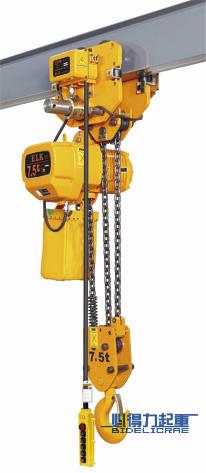 7.5吨运行式环链电动葫芦