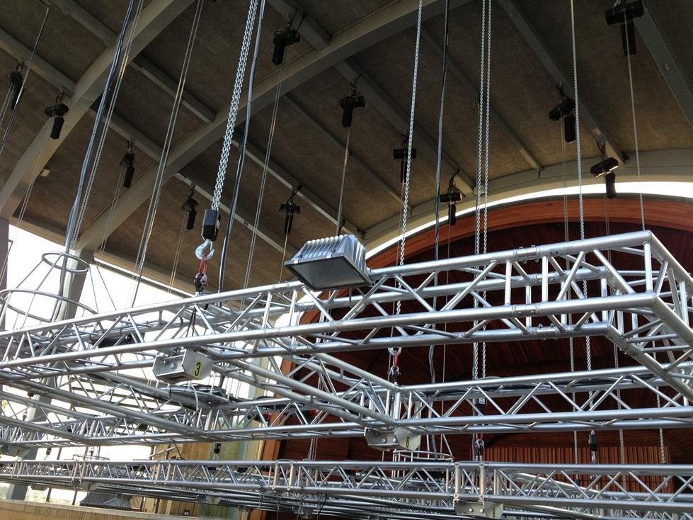 舞台倒挂电动葫芦